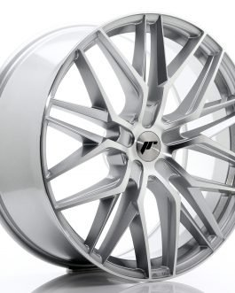 JR Wheels JR28 22×9 ET30-45 5H BLANK Silver Machined Face