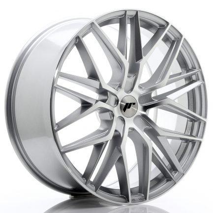 JAPAN RACING JR Wheels JR28 22x9 ET30-45 5H BLANK Silver Machined Face 9.00x22