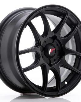 JR Wheels JR29 15×7 ET20-42 4H BLANK Matt Black