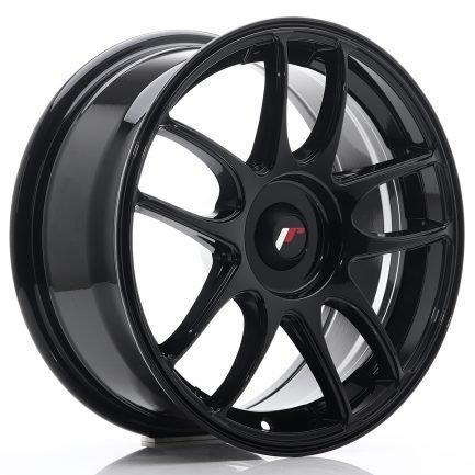 JAPAN RACING JR Wheels JR29 16x7 ET20-42 BLANK Glossy Black 7.00x16