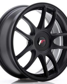 JR Wheels JR29 17×7 ET20-48 BLANK Matt Black