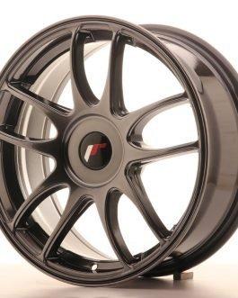 JR Wheels JR29 17×7 ET20-48 BLANK Hyper Black