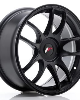 JR Wheels JR29 17×8 ET20-38 BLANK Matt Black