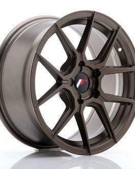 JR Wheels JR30 17×8 ET20-40 5H BLANK Matt Bronze