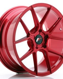 JR Wheels JR30 18×8,5 ET20-40 5H BLANK Platinum Red