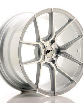 JR Wheels JR30 18×9,5 ET20-40 5H BLANK Silver Machined Face
