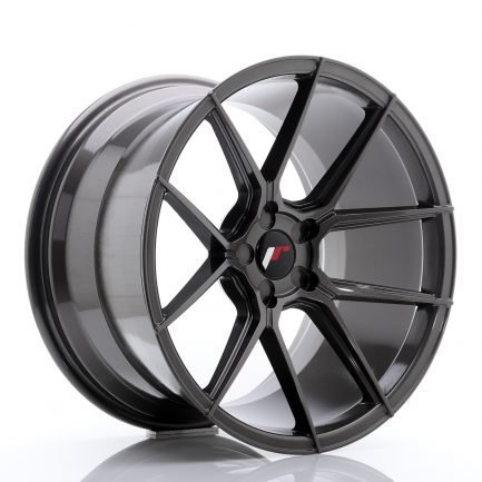 JAPAN RACING JR Wheels JR30 19x11 ET15-40 5H Blank Hyper Gray 11.00x19