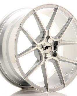 JR Wheels JR30 19×8,5 ET20-42 5H BLANK Silver Machined Face