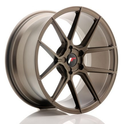 JAPAN RACING JR Wheels JR30 19x8,5 ET35-42 5H BLANK Matt Bronze 8.50x19