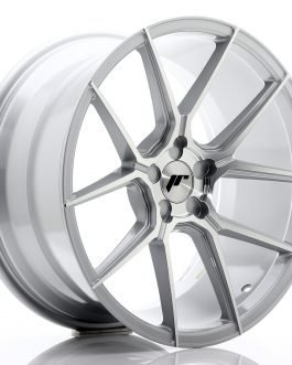 JR Wheels JR30 19×9,5 ET20-40 5H BLANK Silver Machined Face
