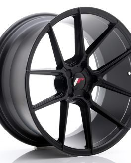 JR Wheels JR30 20×10 ET20-40 5H BLANK Matt Black