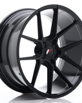 JR Wheels JR30 20×10 ET20-40 5H BLANK Glossy Black