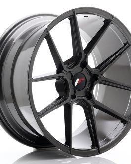 JR Wheels JR30 20×10 ET20-40 5H Blank Hyper Gray