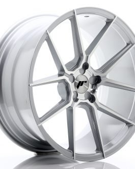 JR Wheels JR30 20×10 ET20-40 5H BLANK Silver Machined Face