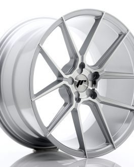 JR Wheels JR30 20×11 ET30-50 5H BLANK Silver Machined Face