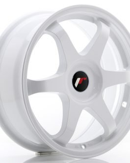 JR Wheels JR3 17×7 ET35-42 BLANK White