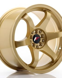 JR Wheels JR3 17×9 ET35 5×100/114 Gold