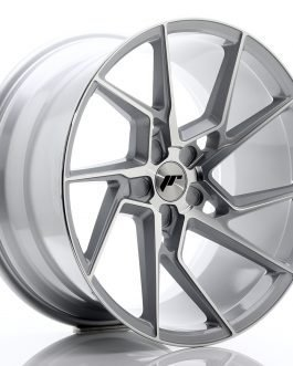 JR Wheels JR33 20×10,5 ET15-30 5H BLANK Silver Machined Face
