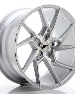 JR Wheels JR33 20×10 ET20-40 5H BLANK Silver Machined Face