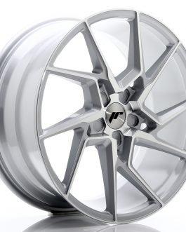 JR Wheels JR33 20×9 ET20-48 5H BLANK Silver Machined Face