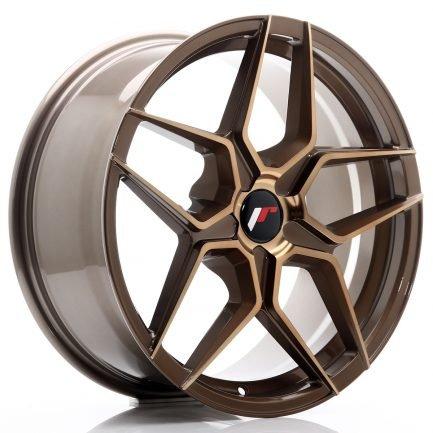 JAPAN RACING JR Wheels JR34 18x8 ET20-42 5H BLANK Platinum Bronze 8.00x18