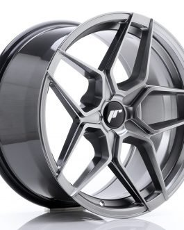 JR Wheels JR34 18×9 ET20-42 5H BLANK Hyper Black