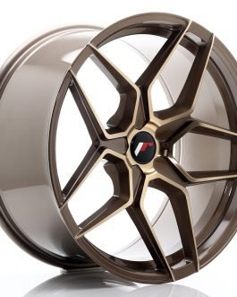 JR Wheels JR34 20×10 ET20-40 5H BLANK Platinum Bronze