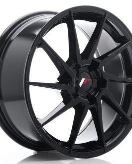 JR Wheels JR36 18×8 ET20-52 5H BLANK Gloss Black