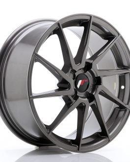 JR Wheels JR36 18×8 ET20-52 5H BLANK Hyper Gray