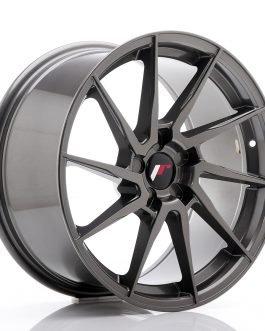 JR Wheels JR36 18×9 ET20-48 5H BLANK Hyper Gray