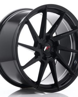 JR Wheels JR36 20×10 ET20-45 5H BLANK Gloss Black