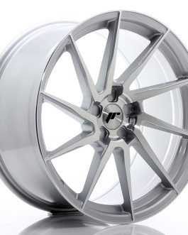 JR Wheels JR36 20×10 ET20-45 5H BLANK Silver Brushed Face