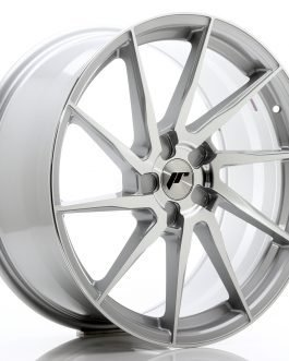 JR Wheels JR36 20×9 ET15-38 5H BLANK Silver Brushed Face