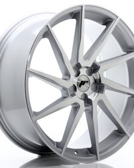 JR Wheels JR36 23×10 ET30-55 5H BLANK Silver Brushed Face