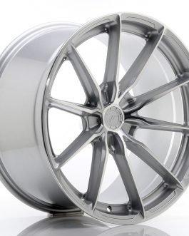 JR Wheels JR37 20×10,5 ET20-40 5H BLANK Silver Machined Face