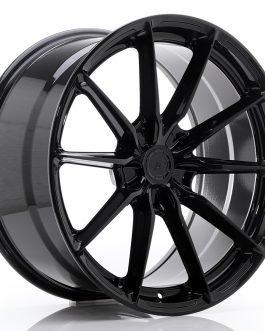 JR Wheels JR37 20×10 ET20-45 5H BLANK Glossy Black