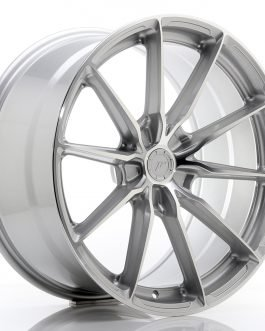 JR Wheels JR37 20×10 ET20-45 5H BLANK Silver Machined Face