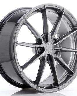 JR Wheels JR37 20×9 ET20-45 5H BLANK Hyper Black