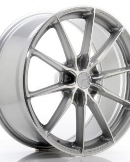 JR Wheels JR37 20×9 ET20-45 5H BLANK Silver Machined Face
