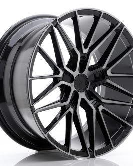 JR Wheels JR38 20×10 ET20-45 5H BLANK Black Brushed w/Tinted Face