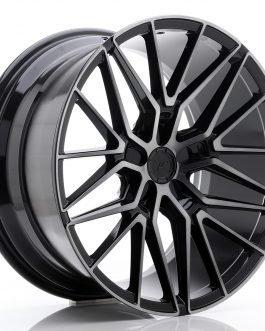 JR Wheels JR38 20×10 ET35-45 5H BLANK Black Brushed w/Tinted Face