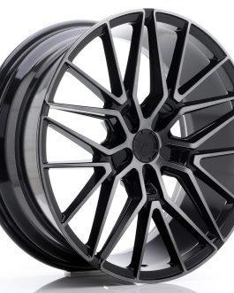 JR Wheels JR38 20×8,5 ET35-45 5H BLANK Black Brushed w/Tinted Face