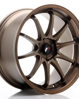 JR Wheels JR5 19×9.5 ET12-36 5H BLANK Dark Anodized Bronze