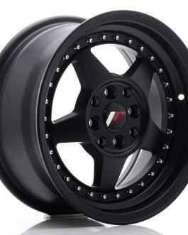 JR Wheels JR6 15×7 ET35 4×100/114 Matt Black