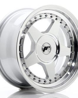 JR Wheels JR6 16×8 ET10-30 BLANK Silver Machined Face