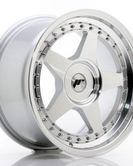 JR Wheels JR6 17×9 ET20-35 BLANK Silver Machined Face