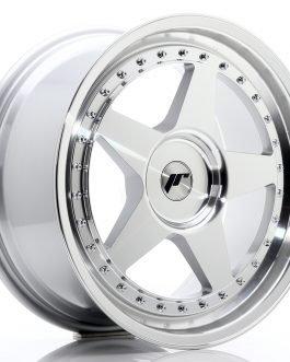 JR Wheels JR6 18×8,5 ET20-40 BLANK Silver Machined Face