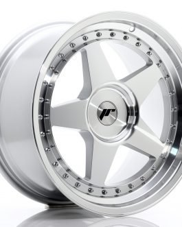 JR Wheels JR6 18×9,5 ET20-40 BLANK Silver Machined Face