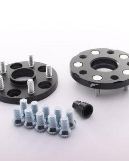 JRWA1 Adapters 15mm 5×112 66,6 66,6 Black