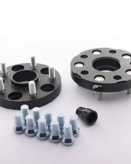 JRWA1 Adapters 20mm 5×112 66,6 66,6 Black
